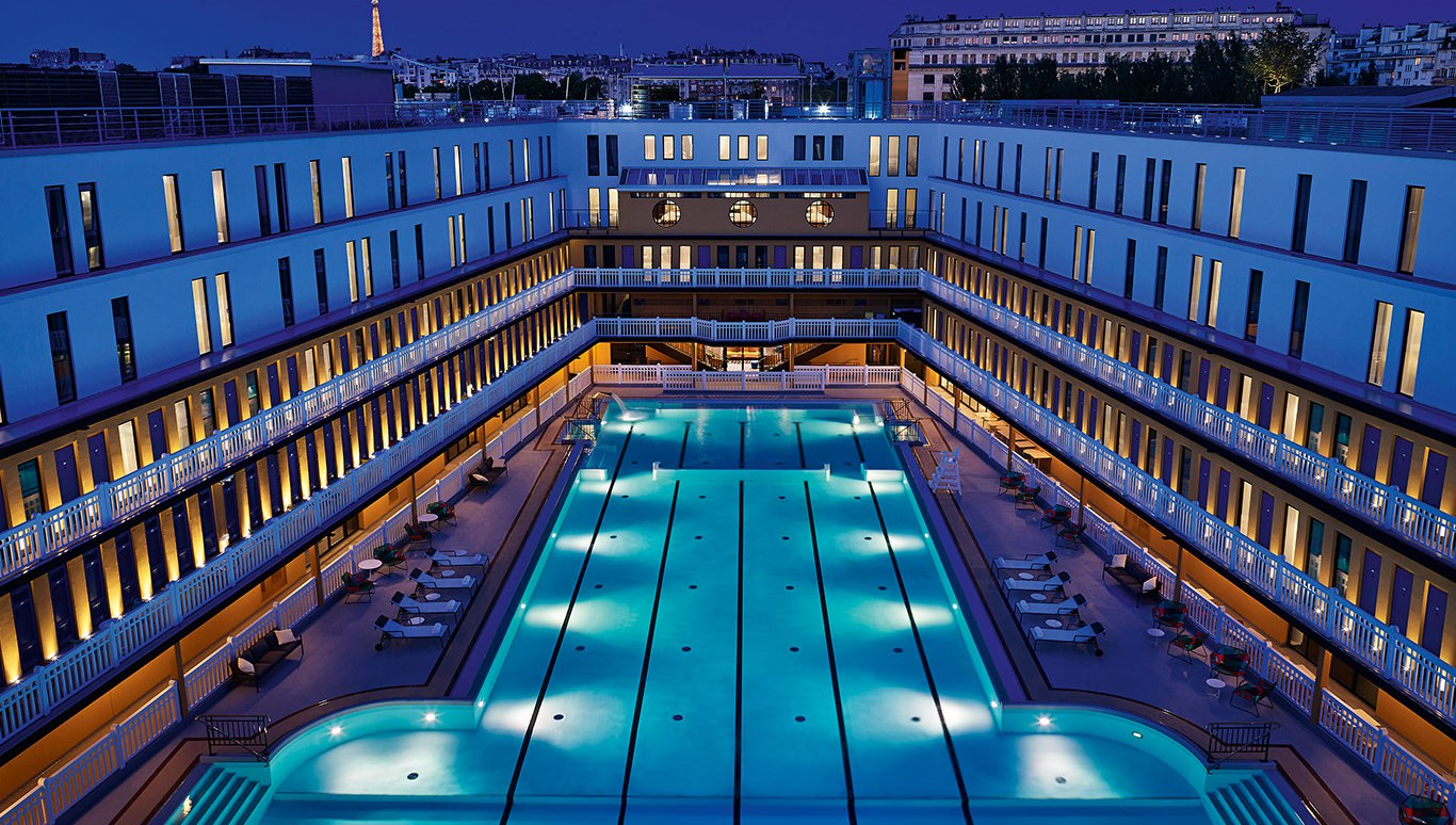 Piscine molitor jean philippe nuel architecte for Molitor paris